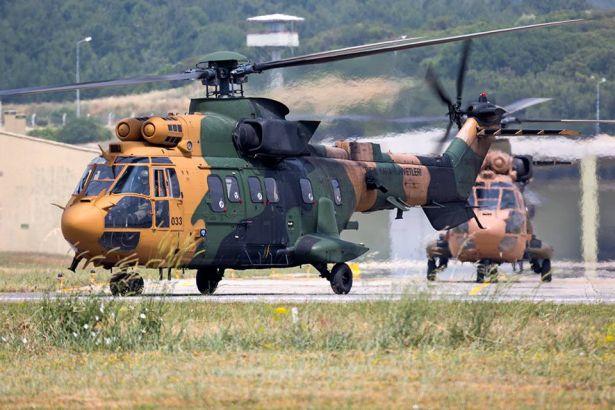 Şırnakta kaza yapan helikopter modeli Türkiyede üç kez düştü