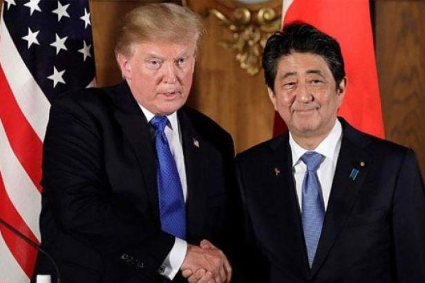 Trump: Japonya beni Nobel'e aday gösterdi