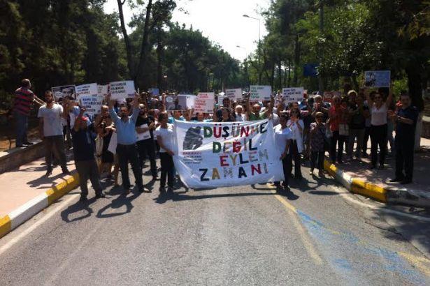 Bakırköylüler ve sağlık çalışanlarından ranta karşı eylem