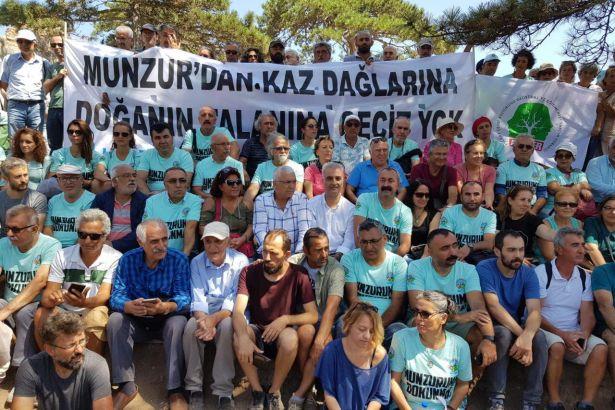 Dersim Belediye Başkanı Maçoğlu'ndan Kaz Dağları'na ziyaret