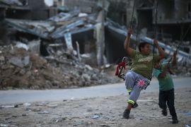 Gazzeli çocuklar
